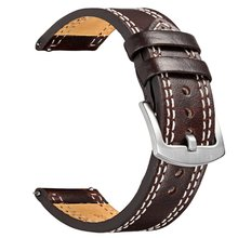 V-moro Newest Fashion Personalize Watch Band For Samsung Gear S3 Classic Strap Genuine Leather Band For Gear S3 Classic Frontier