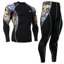 2016 cycling clothing set sports clothing set top leopard sports sets tattoo design leggings ropa de