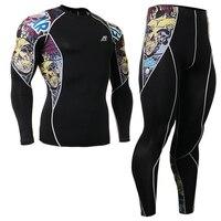 2016 cyclisme vêtements set sports vêtements set top léopard sport ensembles de tatouage conception leggings ropa de segunda mano en ligne