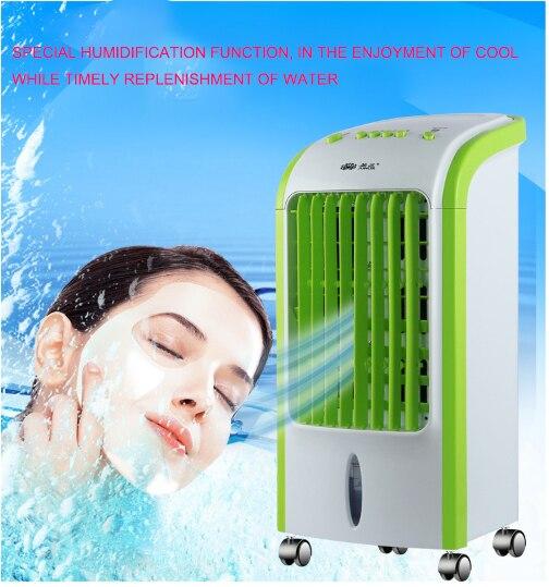 Été Mobile de réfrigération climatisation fan accueil froid unique de refroidissement petit climatisation glace cristal Ventilateur
