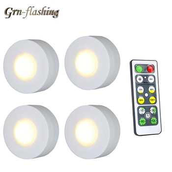 Touch Sensor LED Under Kitchen Cabinet light Wireless remote Dimmable lamp For home Kitchen Wardrobe Stair loft Hallway lighting image