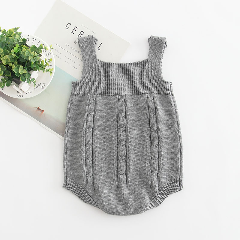 HTB1mJqRB5CYBuNkHFCcq6AHtVXa7 2019 High Quality Baby Boy Knit Romper Girls Cute Crochet Rompers Toddler Brand Spring Suspender Infant Lovely Knitting Romper