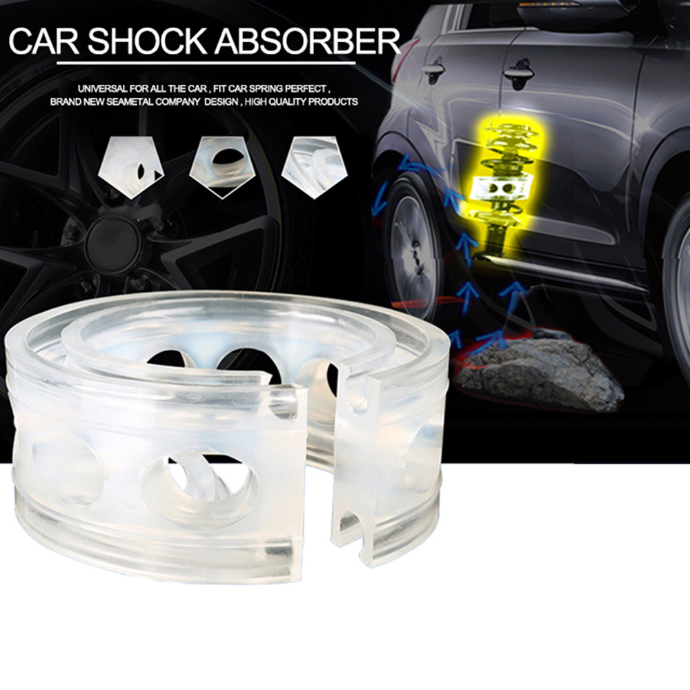 2pcs Car Buffer Shock Absorption Rubber Spring Bumper Absorber Universal for Cars Tools Auto Reduce the vibration of the bump high quality front rear car auto shock absorber spring bumper power cushion buffer for subaru tribeca