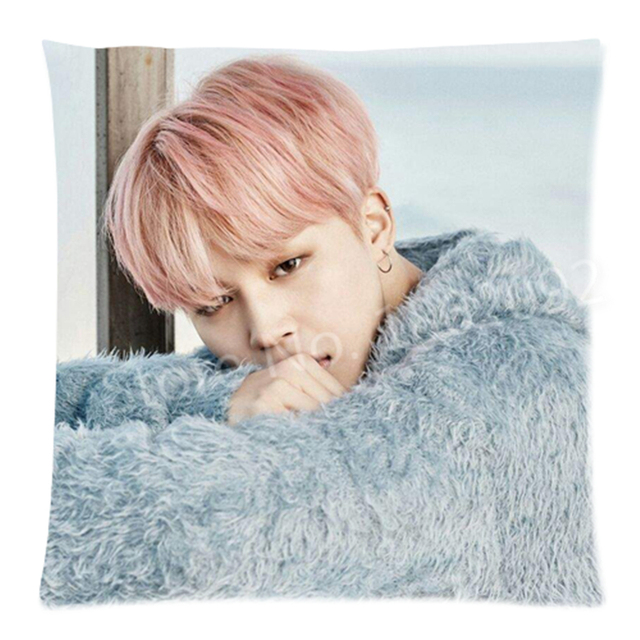 Kpop BTS Jimin Throw Pillow Case Jimin Bangtan Boys ...