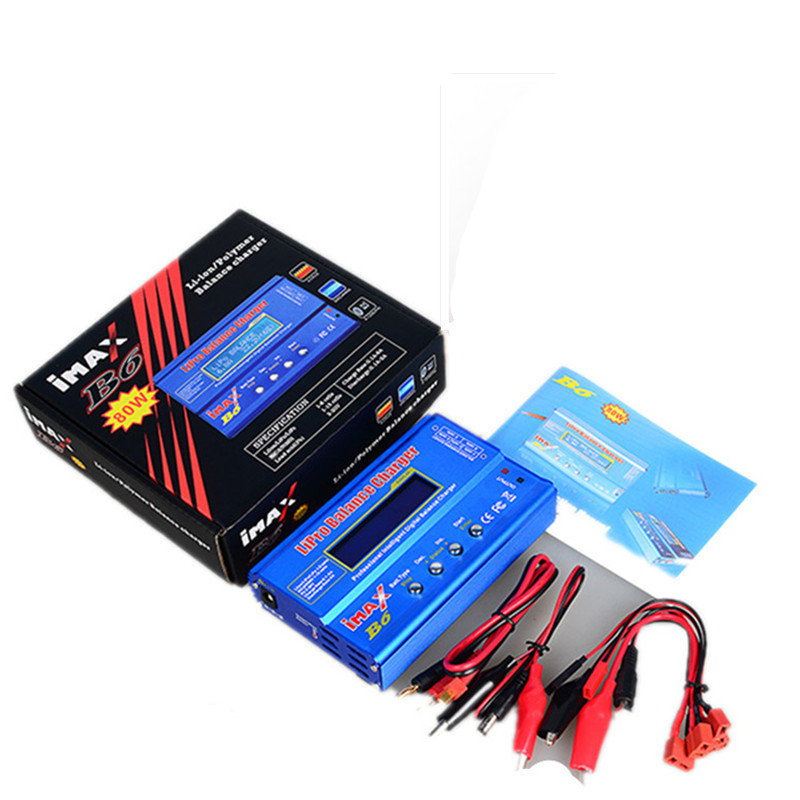iMAX B6 Lipo NiMh Li-ion Ni-Cd RC Battery Balance Digital Charger Discharger C1Hot New Arrival 1s 2s 3s 4s 5s 6s 7s 8s lipo battery balance connector for rc model battery esc