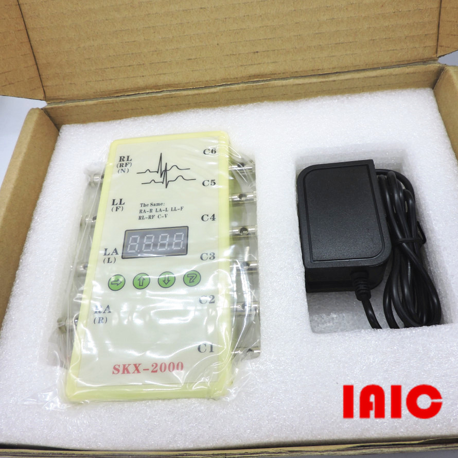 SKX 2000C type ECG analog instrument value ECG signal simulator ECG generator