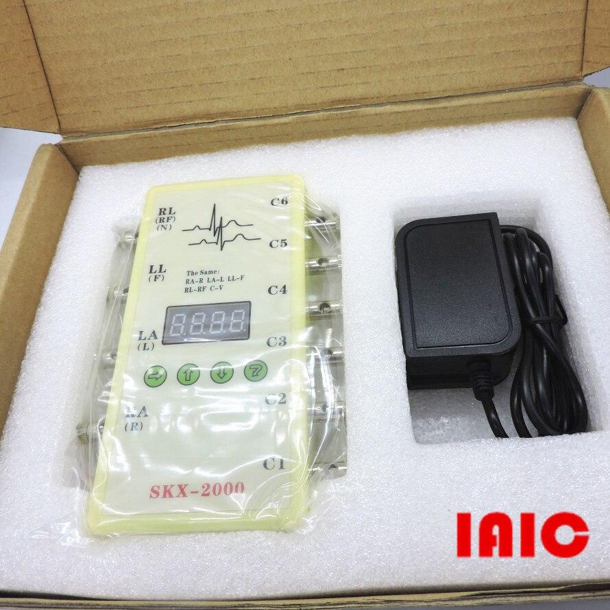SKX 2000C type ECG instrument analogique valeur ECG signal simulateur ECG générateur-in Télécommandes from Electronique    1