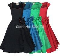 Free Shipping Cheapest Ladies 50s Vintage Retro Plus Size Dress Vintage Style Clothes Party Women S