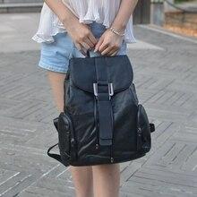 WANU HIGH Quality women backpacks fashion leather ladies backpack famous brand designer zipper bags softback travel solid bag