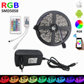 LED strip12V flexible 60led/m 5M/Roll 300LEDs RGB LED Strip SMD5050 WIFI LED RGB Controller 4A adapter  Light Home Decoration