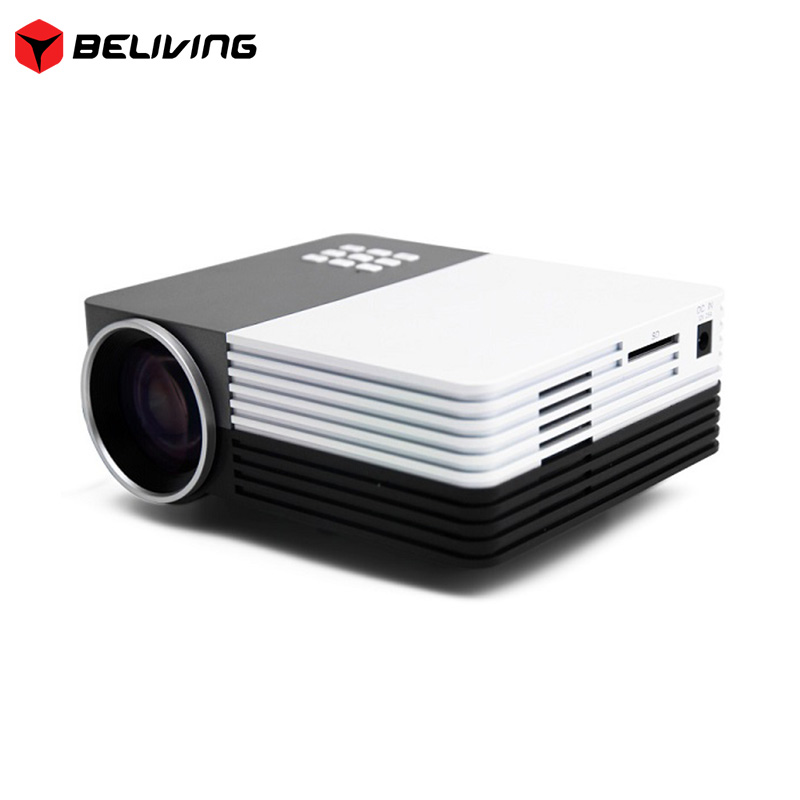 LCD 150lumens 3D Home Theater Projector Thundeal GM50 HDMI USB VGA SD AV Newest GM50 Portable LED Mini Home Projector
