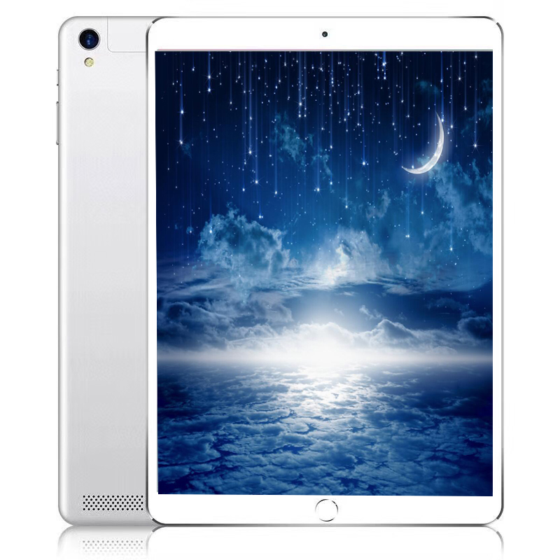 Free shipping 10.1' Tablets Android 8.0 Octa Core Dual Camera Dual SIM Tablet PC WIFI OTG GPS Google bluetooth phone ROM 32GB