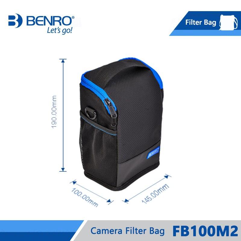 Image 5 - Benro FB100M2 Filter Bag Storage Filters holder For 4pcs Square  Filters 3pcs Round Filters Nylon Bag Frss Shippingbenro bagbag  forholder for