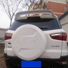 Автомобильный Стайлинг для Ford EcoSport 2013 ABS пластик Неокрашенный праймер цвет модифицированное крыло задний спойлер багажника