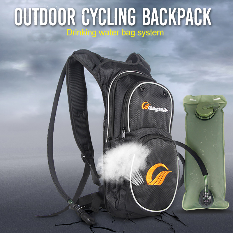 PRO-BIKER Motorycle Back Pack Oil Tank Bag Offroad Racing Saddle Bag Bike Riding Scooter Motocicleta Travel Luggage + Water Bag