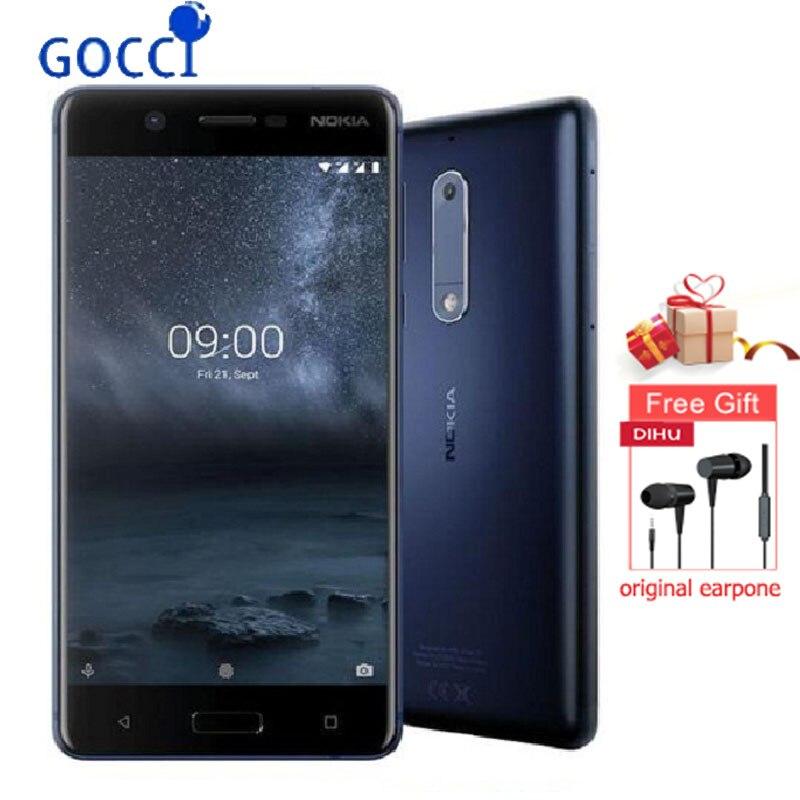 ノキア 5 グローバルバージョン 5.2 インチ指紋アンドロイド 9 2 ギガバイト 16 ギガバイトの Snapdragon 430 オクタコア 4 3g スマートフォン  グループ上の 携帯電話 & 電気通信 からの 携帯電話 の中 1
