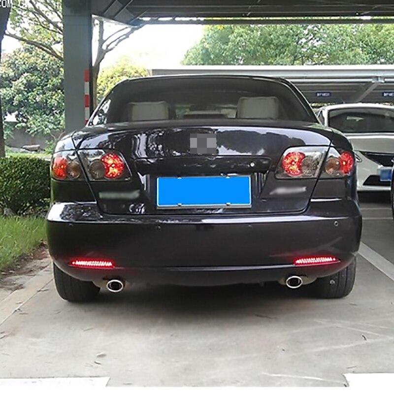 Ownsun New Multi LED Reflector Rear Tail Light Bumper Brake Light For Mazda 6