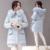 Nuevo Invierno Algodón Grueso Cuello de Piel Chaqueta de la Capa de las Mujeres Ropa de Abrigo Largo y Grueso Caliente Abajo Abrigo Parka Para Mujer