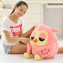 20CM baby toys cute night owls plush filled animal dolls 2 color soft doll