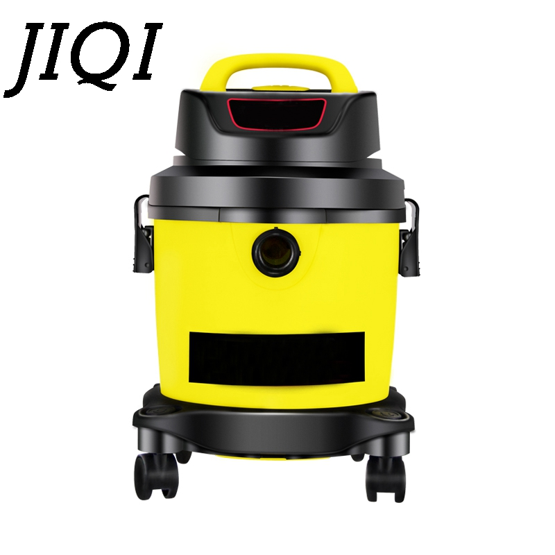 JIQI Multifunction Vacuum cleaner handheld aspirator Dust Collector powerful suction Bucket type Wet dry cleaning machine brush 15l industrial dust collector 1200w electric dust collector for dry and wet