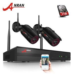 Image 2 - ANRAN 4CH WIFI Drahtlose Kamera IP Security Kamera Kit 1080P HD 2PCS CCTV Kamera System Im Freien Wasserdichte Hause sicherheit System