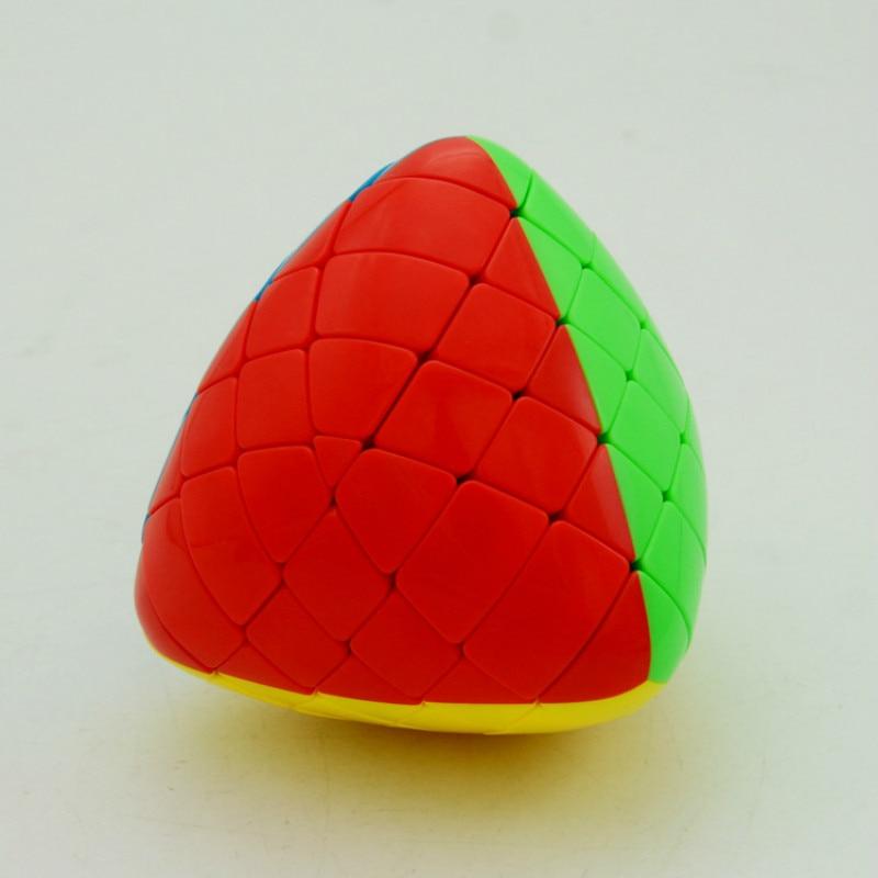 SHENGSHOU 5x5 riz boulette magique IQ Cube vitesse Puzzle Cube jouets