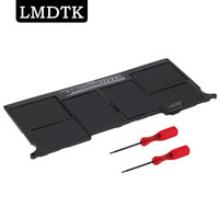 LMDTK New laptop Battery for Apple MacBook Air 11 A1465 2012 A1370 2011 production Replace A1406 battery Free shipping