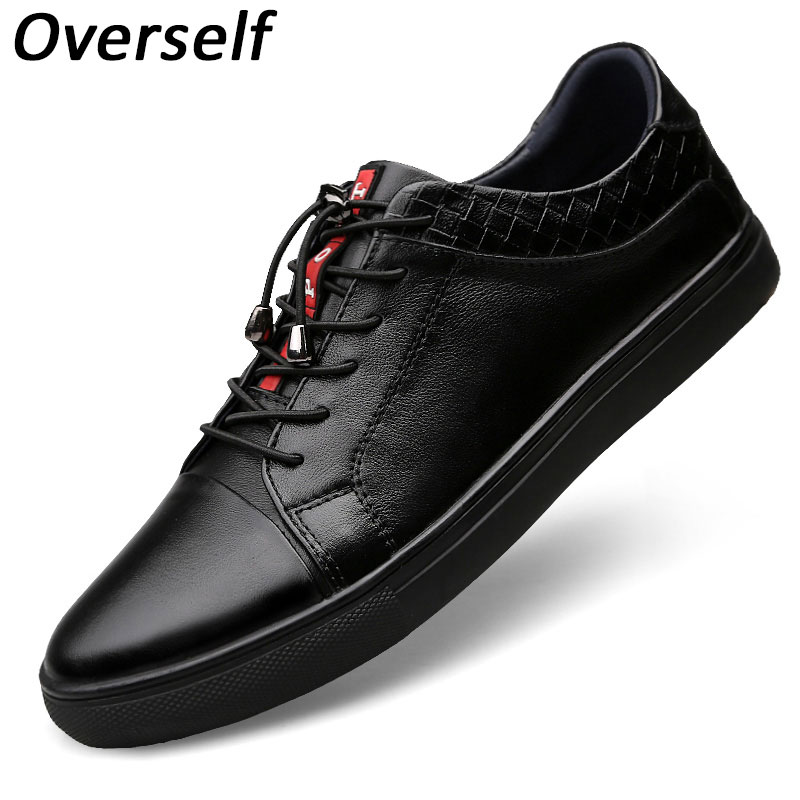 New Style Retro Style Men Shoes High Quality Men Casual Shoes Lace Up Footwear Genuine Leather Moccasins Comfortable Man Flats shoes men genuine leather lace up flats shoes round toe casual shoes loafers moccasins high quality men shoes