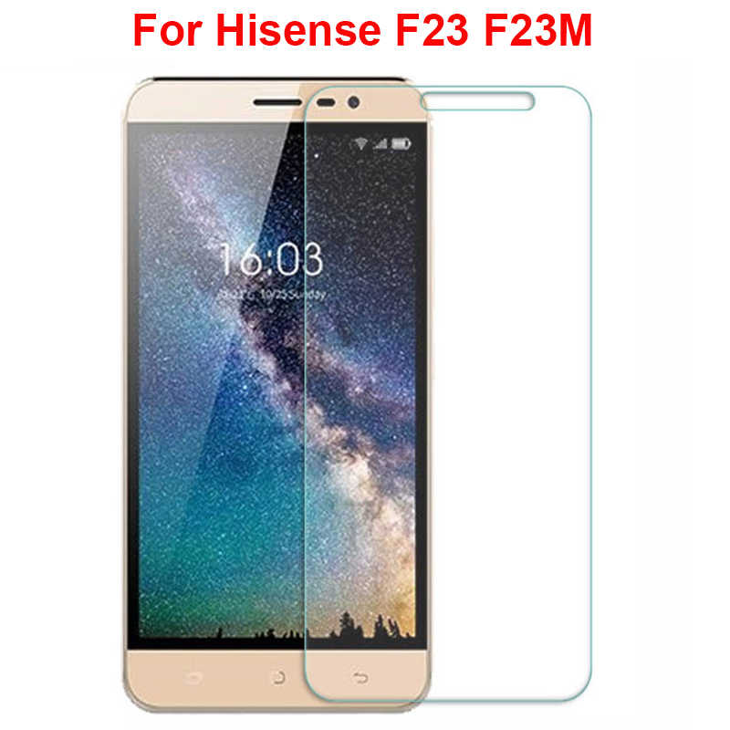 For Hisense F23 F23M Case Tempered Glass 9H Premium Protective Screen Protector Film Funda For Hisense F23 Cover Phone Film