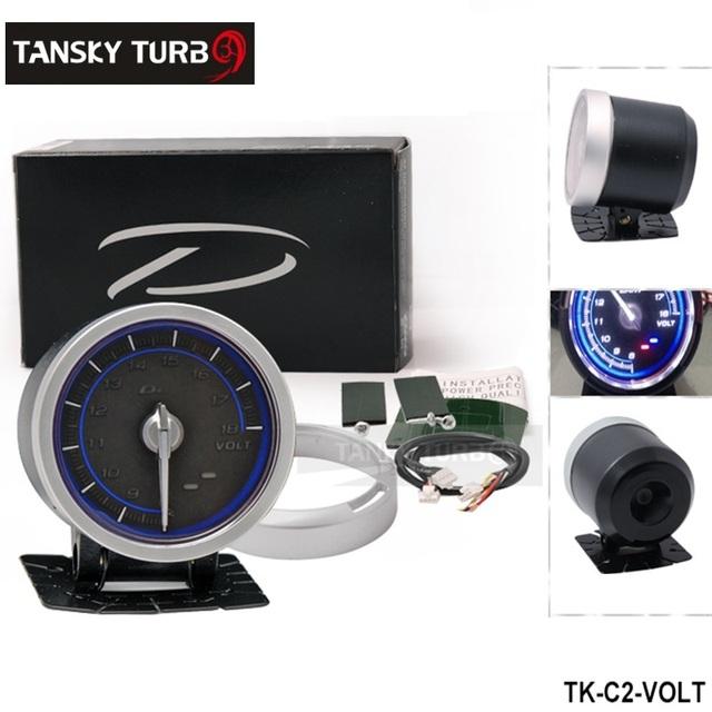 Tansky - DF ligação medidor avançado C2 Volt medidor azul TK-C2-VOLT
