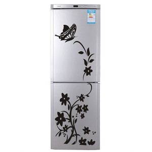 Image 3 - 2020 High Quality Wall Sticker Creative Refrigerator Sticker Butterfly Pattern Wall Stickers Home Decor Wallpaper Free Shipping