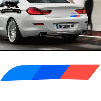 Car Side Fender trunk decoration side skirt Stickers Car-Styling For bmw e90 e46 f30 f10 f34 X1 x3 x4 x5 e70 f15 f16 x6 e71 M3 image