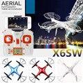 X6sw WI-FI Игрушки rc вертолет rc drone fpv quadcopter gopro профессиональных дронов с камеры VS X600 x4 Летательный Аппарат с C4005