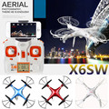 X6sw WI-FI Câmera Brinquedos rc helicopter rc zangão fpv quadcopter drones com câmera gopro profissional VS X600 x4 Zangão com C4005
