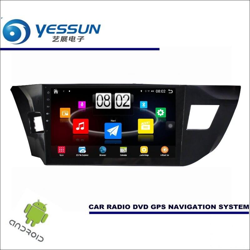 YESSUN Car Android Player Multimedia For Toyota Levin 2014~2016 Radio Stereo GPS Nav Navi Navigation (no CD DVD ) 10 HD Screen