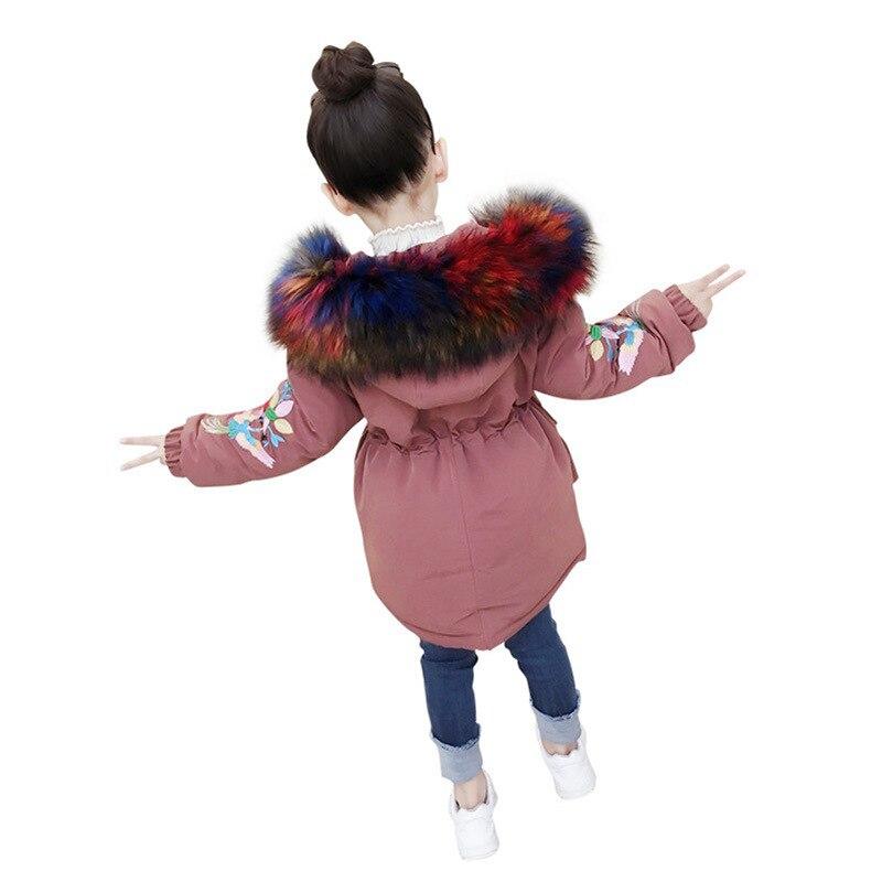 Warme Dikke Winterjas.Beste Koop Rlyaeiz Winter Jassen Voor Meisjes 2018 Fashion Warme