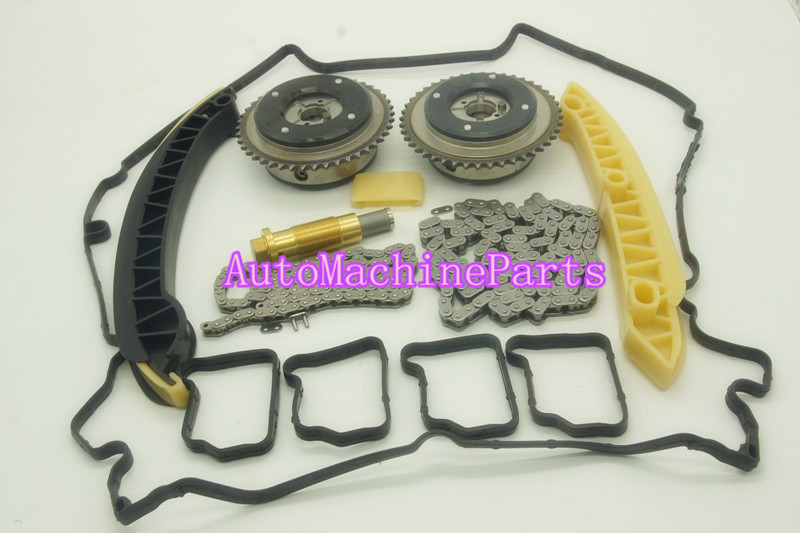 A2710500800 A2710500900 2710500800 2710500900 For Mercedes M271 Complete timing chain sprocket adjuster kit vvt lifan1 8 air intake timing sprocket vvt phase shifter chain wheel for lifan x60 720