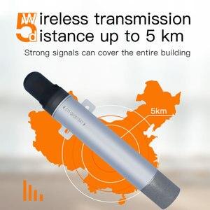 Image 4 - Sensor sem fio do o2 da baixa potência com 0 25% transmissor sem fio do registador da umidade da temperatura de lora da longa distância