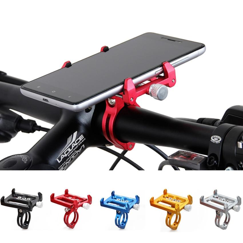 Gub Cnc Bicycle Handle Phone Mount Cradle Holder Support