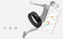 Waterproof Colorful Smart Wristband with Sleep Monitoring