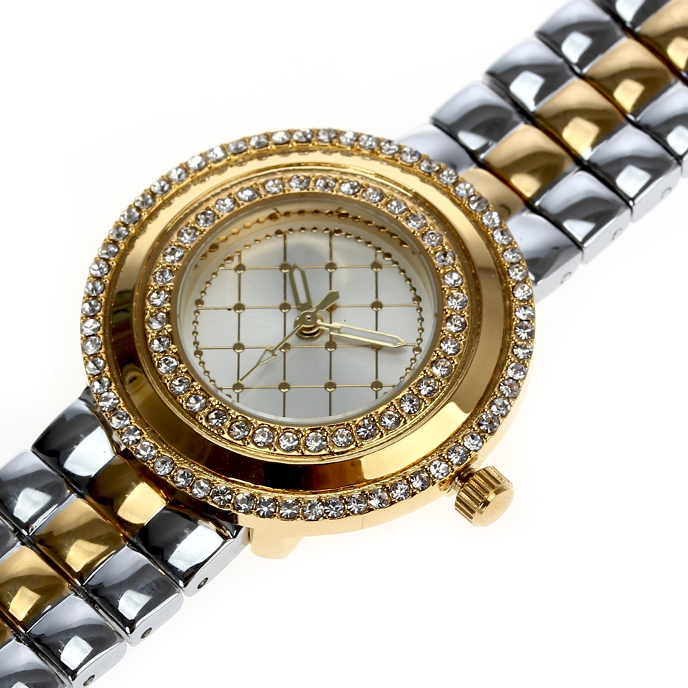 Image 2 - Dreamcarnival 1989 Recommend Elegant Ladies Watches 3 Colors Quartz Watch Women Slim Clock Party Fashion Brand Crystals A8370-in Women's Watches from Watches