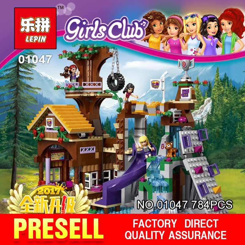 ФОТО Lepin 01047 784PSC Super classic adventure camp tree house Model Building  Blocks Compatible  for Gifts toys