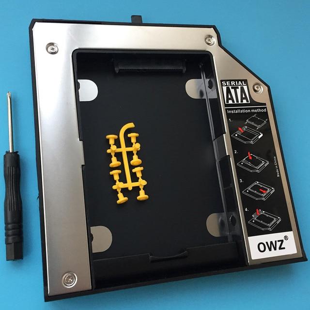 Nueva bandeja de hdd hard drive caddy para ibm lenovo thinkpad t420 t510 T520 T530 T430 W530 T530 T430i SATA 3 HDD hard drive Caddy bandeja