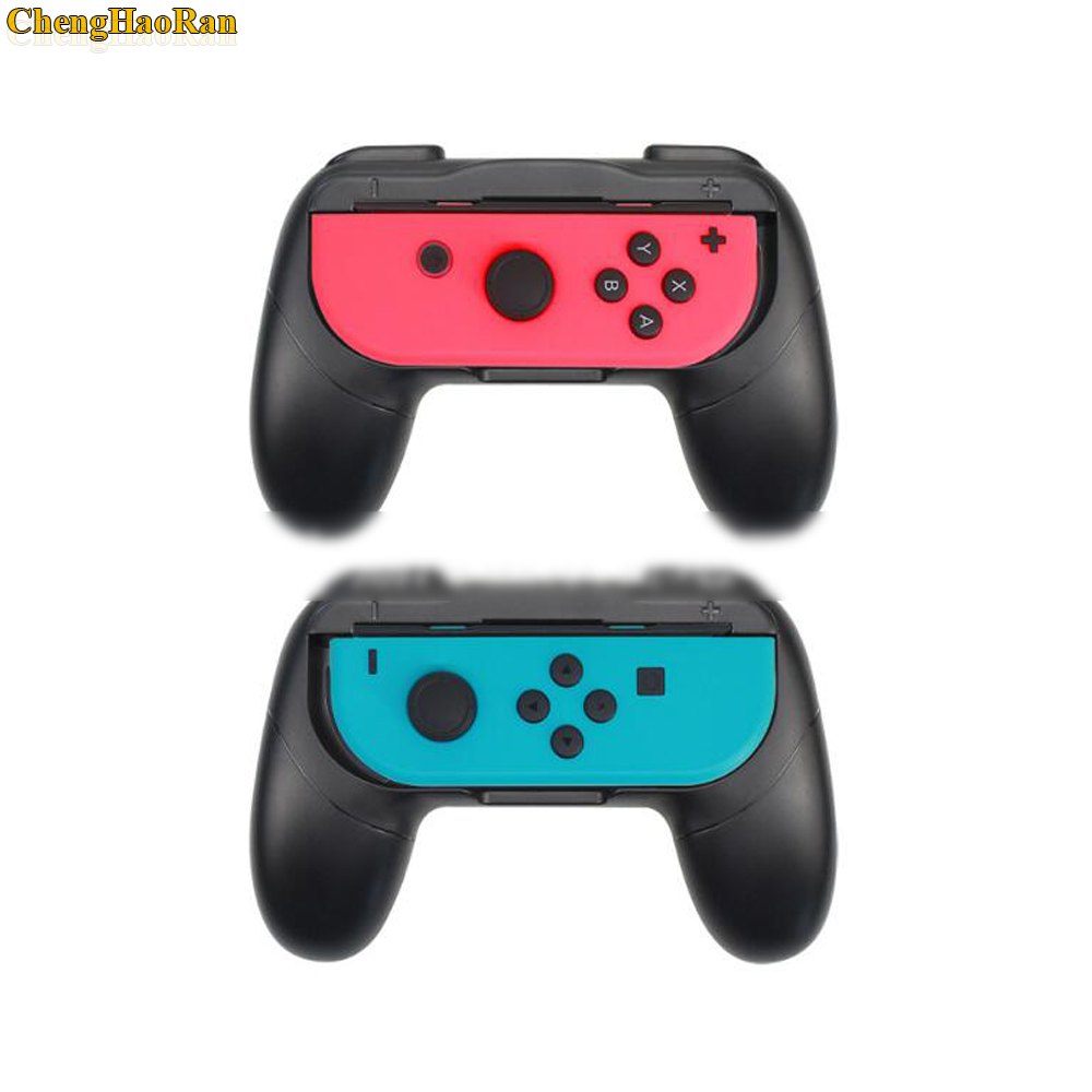 Image 5 - 2pcs Wear Resistant Joy con Handle Holder Grips for Nintend Switch NS Joy Con Console ( without joycons )-in Replacement Parts & Accessories from Consumer Electronics