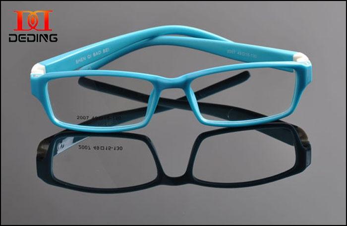 5caabac1ef5ff Crianças de silicone TR90 óculos moldura óculos crianças frames armação de óculos  infantil colorido DD0901