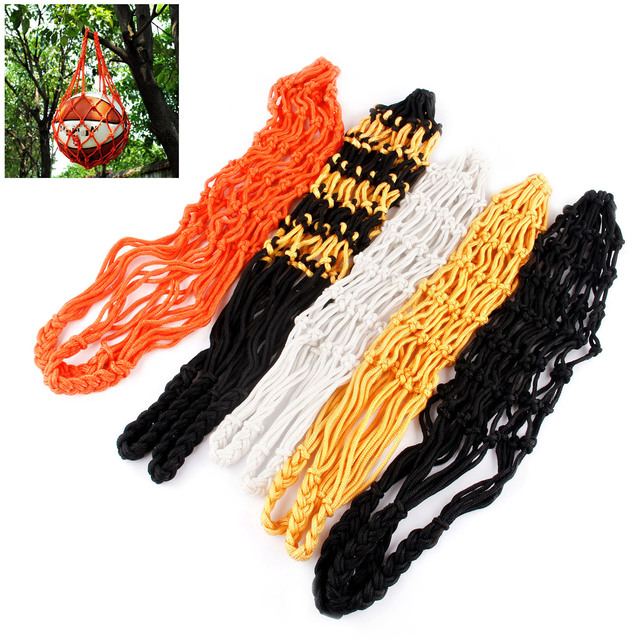 SURIEEN Sports Football Accessories Soccer Mesh Net Bag Single Ball Carrier for Carrying Basketball Volleyball Soccer 5 Colours