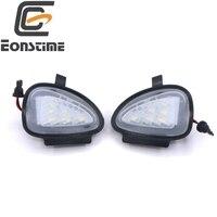 2PCS Error Free LED Side Mirror Puddle Light For Vw Golf 6 2009 2015 Golf Cabriolet