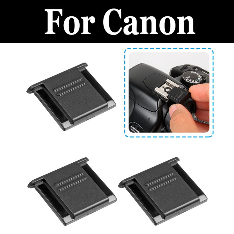 Black Hot-Shoe Cover Protector for Canon  EOS M M5 M50 Mirrorless Camera
