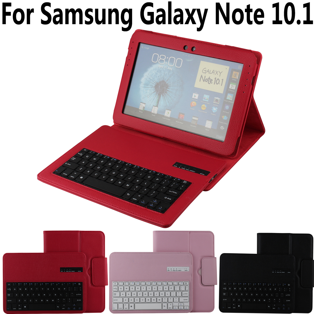 Detach Wireless Bluetooth Keyboard Case for Samsung Galaxy Note 10.1 N8000 N8010 N8020 Cover Keyboard for Samsung Note 800 10.1 artway pb 8000