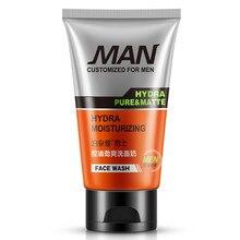 BIOAQUA Face Care Men Deep Cleansing Skin Care Facial Cleanser Moisturizing Whitening Acne Blackhead Exfoliating Cleanser